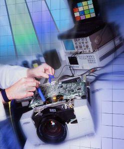 naprawa projektorów